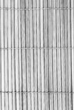 Black and white back side of bamboo Stock Photography