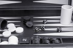 Black and white board game stock photos