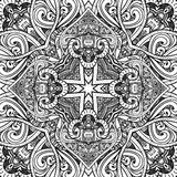Black and white background. Abstract pattern, Stock Photo