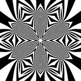 Black and White Background. Abstract Vector Illustration.  Royalty Free Stock Images