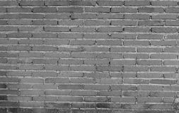 Black and white Background of brick wall Stock Photos