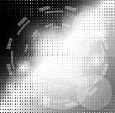 Black and white Background Circle Stock Image