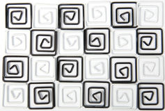Black and white background clips royalty free stock images