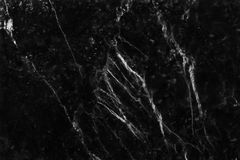 Black and white background marble wall texture for design art work, seamless pattern of tile stone with bright and luxury.  Stock Photography