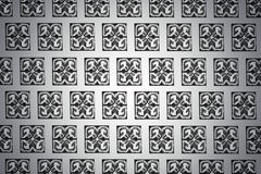 Black and white background with patterns Royalty Free Stock Images