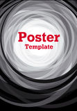 Black and white background poster Royalty Free Stock Photo