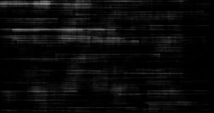 Black and white background realistic flickering, analog vintage TV signal with bad interference, static noise background. Overlay ready stock video