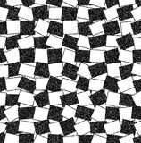 Black and white background of rectangles Stock Images