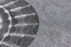 Black and white background from a soft textile material. sheeting fabric with natural texture. Cloth backdrop Royalty Free Stock Photography