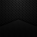 Black and white background with space for your message Royalty Free Stock Images