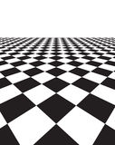 Black and white background with squares Royalty Free Stock Photography