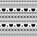 Black and white background with teddy bears for winter holidays. Royalty Free Stock Photos