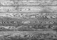 Black white background with wooden planks texture. royalty free stock photography