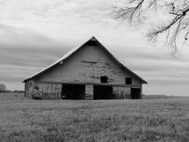 Black & White Barn Royalty Free Stock Images