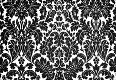 Black and white baroque Royalty Free Stock Photo