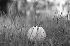 Black and white Baseball Stock Photography