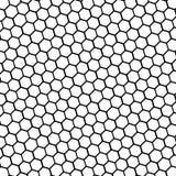 003 Black and white basic hexagonal shape honeycomb. Black and white basic hexagonal shape honeycomb abstract background texture vector illustration eps10 stock illustration