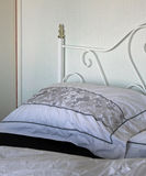 Black And White Bed Linen Stock Images