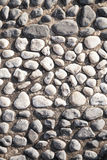 Black and white big pebble rocks Stock Photo