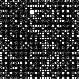 Black and white block pattern vector illustration