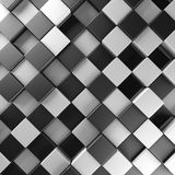Black and white blocks. Abstract background Royalty Free Stock Photo