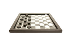 Black and white board game Royalty Free Stock Photo