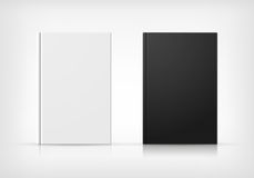 Black And White Book Covers Stock Photo