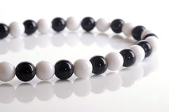 Black and white bracelet Royalty Free Stock Image