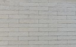 Black and white brick wall art concrete or stone texture. Background stock photography
