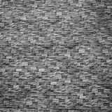Black and white brick wall Royalty Free Stock Photography