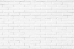 White brick wall texture background royalty free stock image