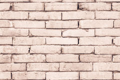 Black and white brick wall texture background . Royalty Free Stock Photography