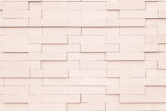 Black and white brick wall texture background. Stock Images
