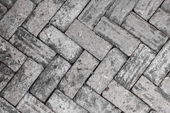 Black and White Bricks Stock Images