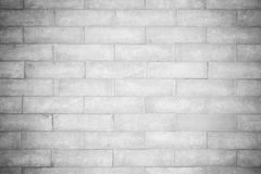 Black and white bricks blocks wall Royalty Free Stock Photo