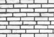 Black and white brickwork detailed texture background Royalty Free Stock Photo