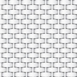 Black and white bump map of cloth for texture, 3D rendering. Black and white bump map of cloth for texture Stock Photos