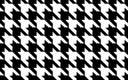 Black and white cage pattern. Pattern texture repeating seamless. Abstract fashion background. French cage. Geometric pattern. Vec