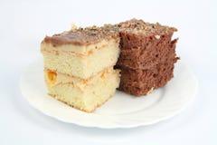 Black and white cakes Stock Photo