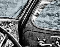 Black And White, Car, Motor Vehicle, Monochrome Photography Stock Images