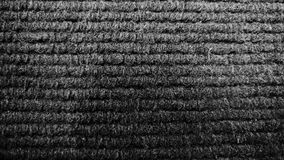 Black White carpet. Texture monochrome Vector Illustration