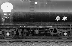 Black-and-white, Carriage, Coal Stock Images