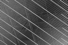 Black and white of ceiling pattern texture Royalty Free Stock Photo