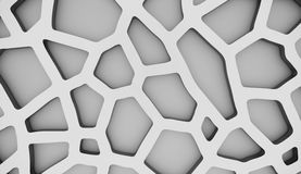 Black and white cells background Stock Photos