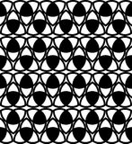 Black-white celtic knot background Stock Photography