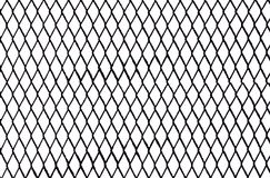 Black and White Chain Link. Black Chain Link Abstract Design on white background Royalty Free Illustration