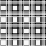 Black white check pixel square fabric texture seamless pattern. Eps10 royalty free illustration