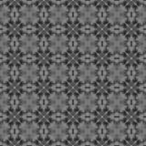 Black and white checked allover seamless pattern. royalty free illustration