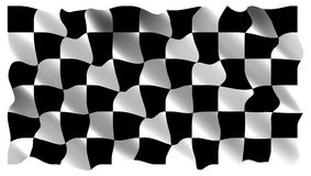 Black and white checked Stock Photo