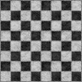 Black & White Checkerboard stock images